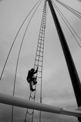 Going aloft