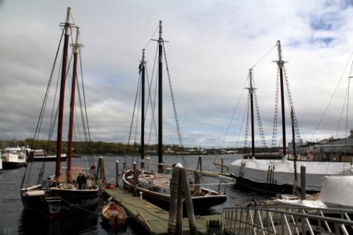 Rockland Windjammer Wharf Schooners